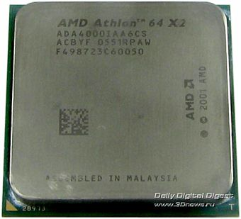 AMD Athlon 64 X2 Rev. F