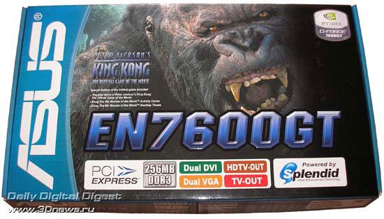 ASUS EN7600GT в упаковке