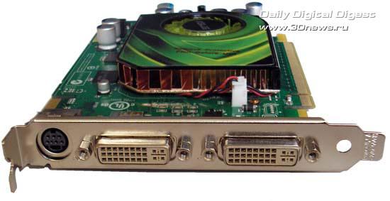 видеовыходы на ASUS EN7600GT