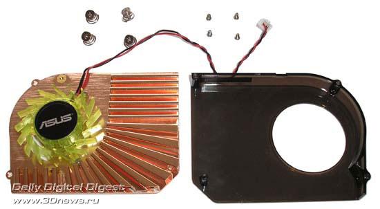 система охлаждения ASUS EN7600GT