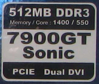 Palit 7900GT Sonic 512Mb