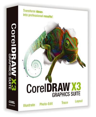 CorelDRAW Graphics Suite X3