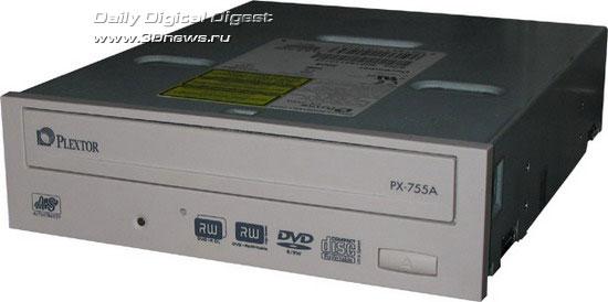 Внешний вид привода Plextor PX-755A