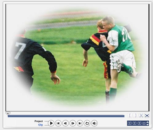 Ulead Video Studio 10 спецэффекты кайма виньетка добавление эффекта