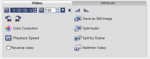 Ulead Video Studio 10 редактирование видео изменение изображения эффекты