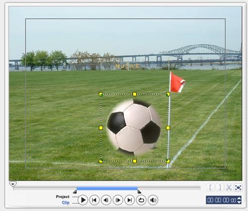 Ulead Video Studio 10 редактирование видео наложение объекта