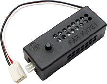 Контроллер скорости Fan Mate, который можно подключить последовательно с вентилятором для изменения его скорости...