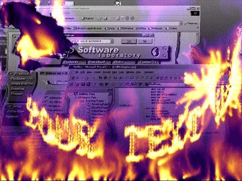 שומר מסך - אש / firemagic