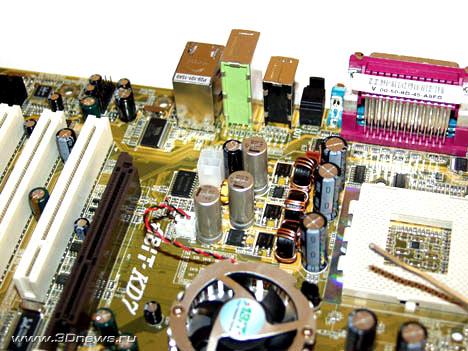 Abit KD7-RAID Power Supply