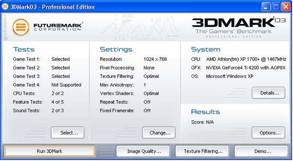 3DMark 2006 Ekran Görüntüleri - 1