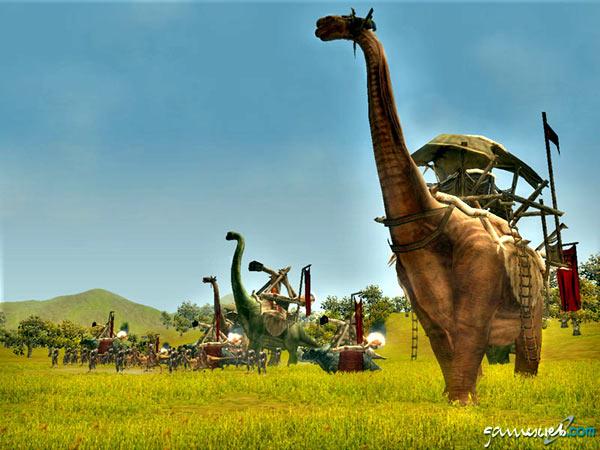 ...люди и динозавры против людей и динозавров), а вот про графу ничего...