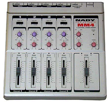 NADY MM4 Mixer Компактный микшерный пульт.
