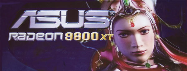 ASUS RADEON 9800 XT Logo
