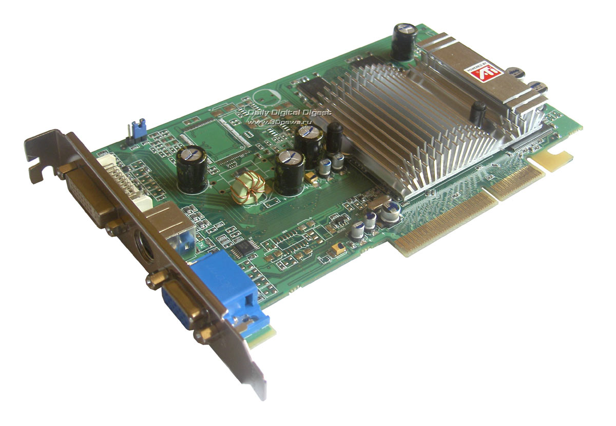 Radeon 9600 Series Драйвера