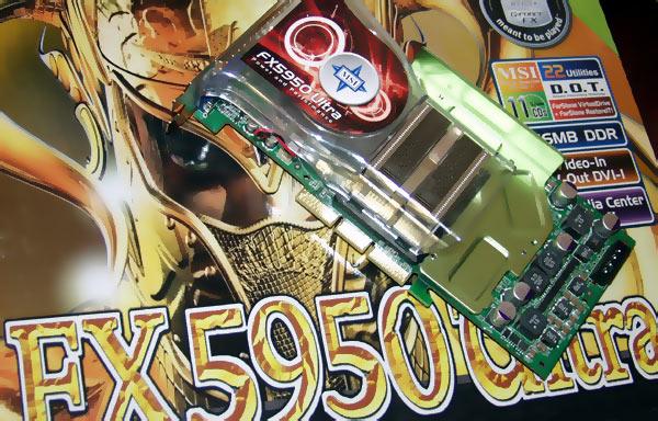 MSI FX5950 Ultra VTD256