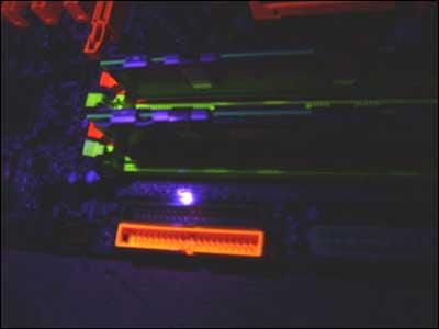 in ultraviolet