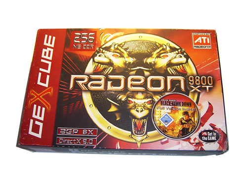 GeXcube Radeon 9800XT BOX