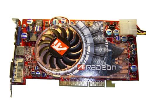 GeXcube Radeon 9800XT Front