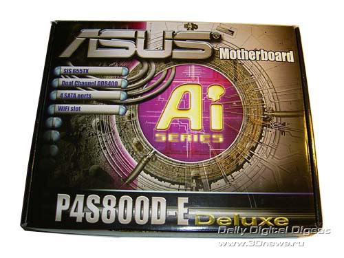 Asus P4s800d X Драйвера
