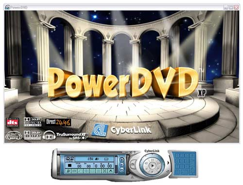 Cyberlink PowerDVD XP 5.x Deluxe.