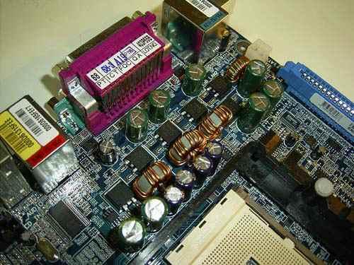 Gigabyte K8NSNXP на чипсете nVidia nForce3 250 Материнские платы.