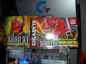 Gigabyte R800XT R600Pro