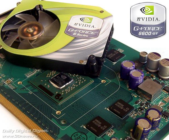 Память.  Число транзисторов.  Сегодня мы будем рассматривать флагмана новой линейки - GeForce 6600GT.