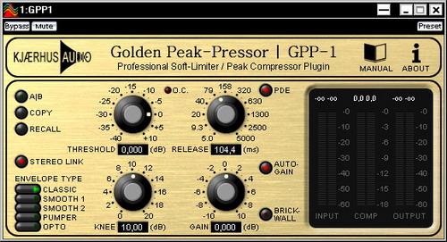 Kjaerhus Audio GPP-1