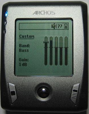 HDD MP3 плеер  Archos  Gmini XS 200