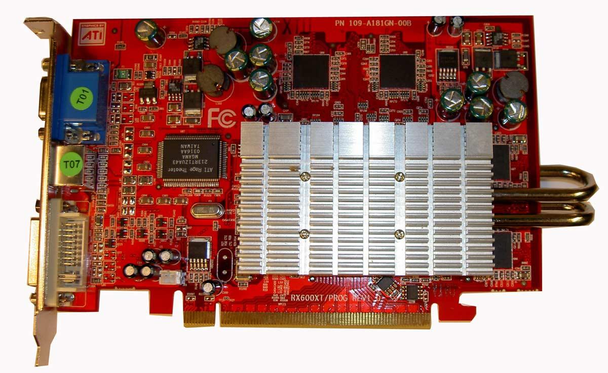 ATI X600XT PCX 128MB SILENT PIPE
