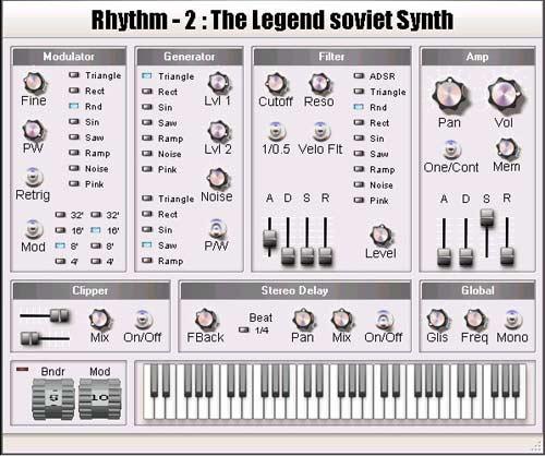 Rhythm - 2 VSTi v2.1