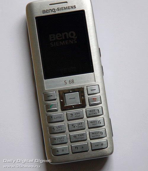 Benq Siemens S68 внешний вид