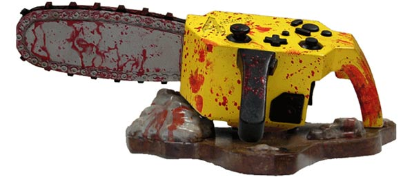 Nuby Tech Resident Evil 4 Chainsaw Controller