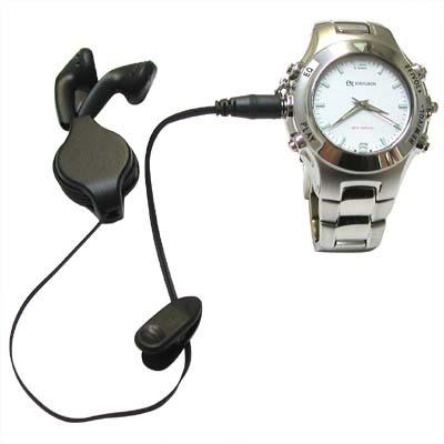 Наручные часы с MP3 плеером
