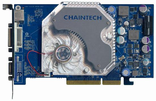 Chaintech GeForce 6600 GT AGP