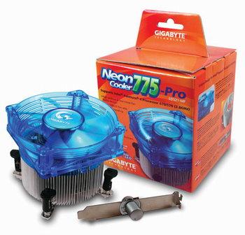 Gigabyte Neon Cooler 775