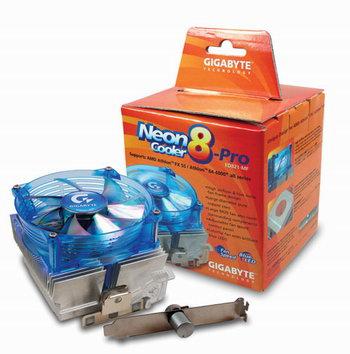 Gigabyte Neon Cooler 8