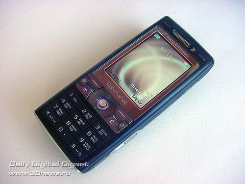 Sony Ericsson k800i внешний вид